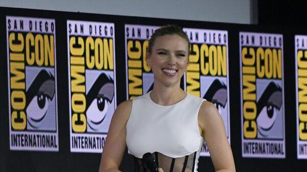 Скарлетт Йоханссон на фестивале San Diego Comic-Con International 2019