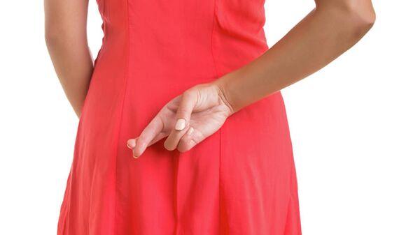 Скрещенные пальцы за спиной