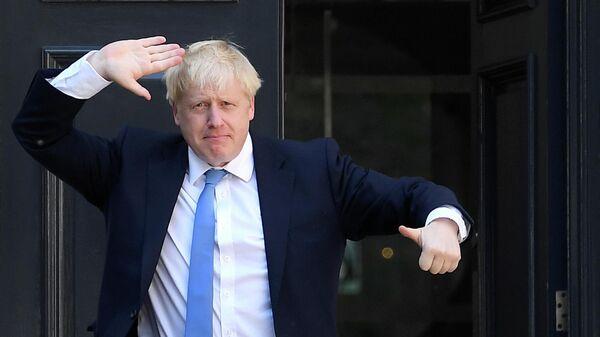 Новый премьер-министр Великобритании Борис Джонсон. 23 июля 2019