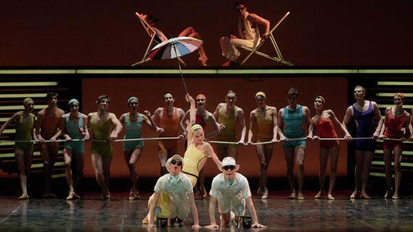 Генеральная репетиция балета Бориса Эйфмана Up & Down по роману Ф. С. Фицджеральда Ночь нежна в Александринском театре в Санкт-Петербург