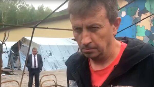 Директор детского палаточного лагеря Холдоми Максим Кузнецов