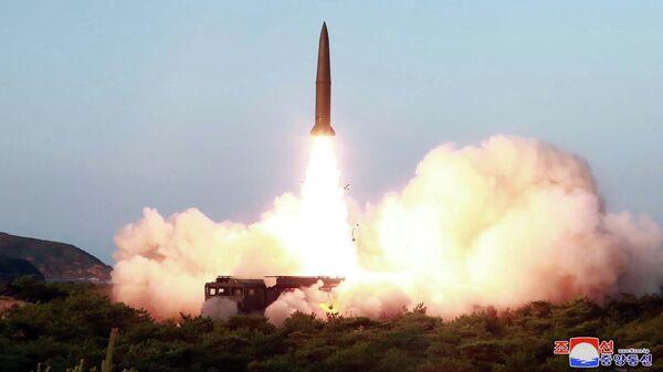 Испытания ракет в КНДР