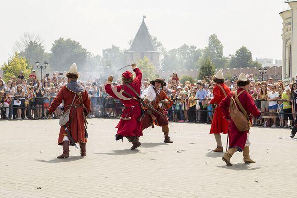 Мероприятие прошло в рамках подготовки к празднованию 500-летия Тульского кремля