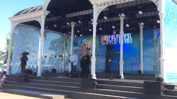 Наместник Валаамского монастыря епископ Троицкий Панкратий открыл фестиваль православного пения
