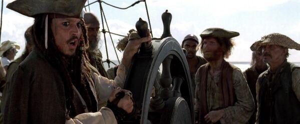 Кадр из фильма Пираты Карибского моря: Проклятие Черной жемчужины(2003)