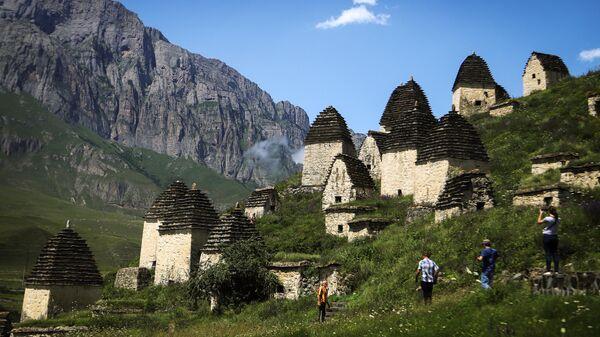 Комплекс Город мертвых в Северной Осетии