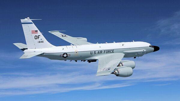 Самолет радиоэлектронной разведки американских ВВС Boeing RC-135V Rivet Joint