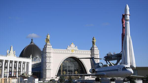 Павильон №34 Космос на ВДНХ в Москве