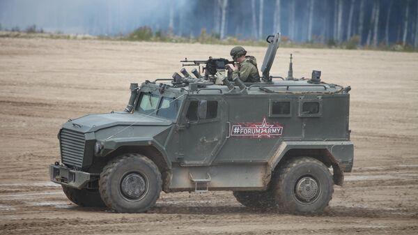 В Росси начались испытания нового поколения бронеавтомобилей Тигр
