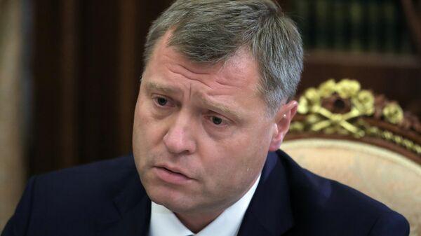 Временно исполняющий обязанности губернатора Астраханской области Игорь Бабушкин