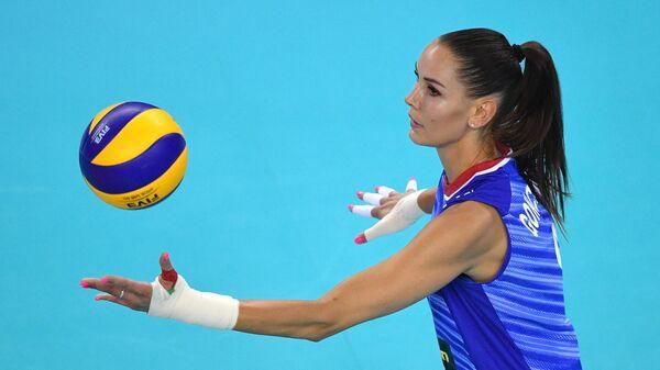 Волейболистка сборной России Наталья Гончарова