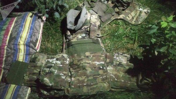 Одежда раненного спецназовца при штурме дома Алмазбека Атамбаева