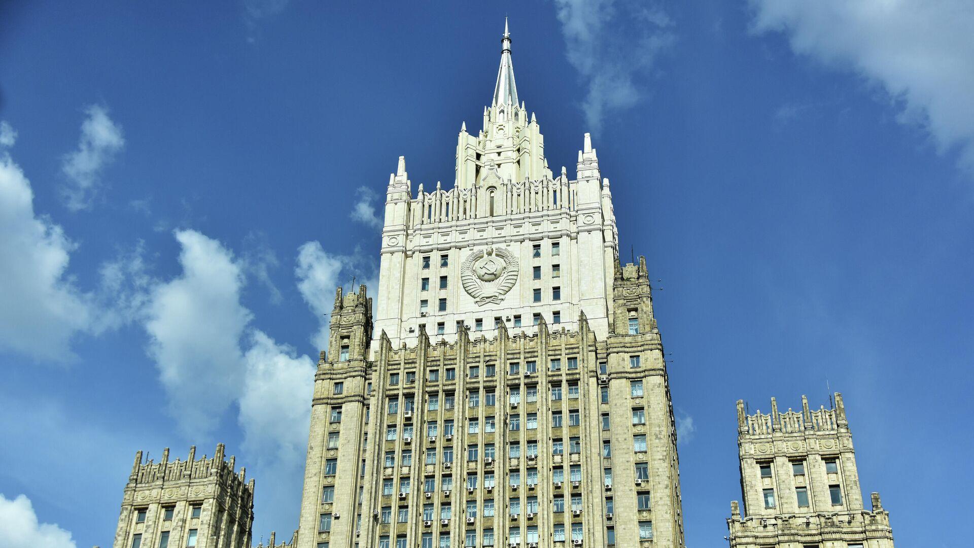 Здание Министерства иностранных дел РФ - РИА Новости, 1920, 22.08.2021