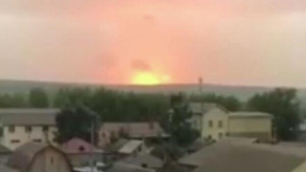 Взрыв в Ачинском районе