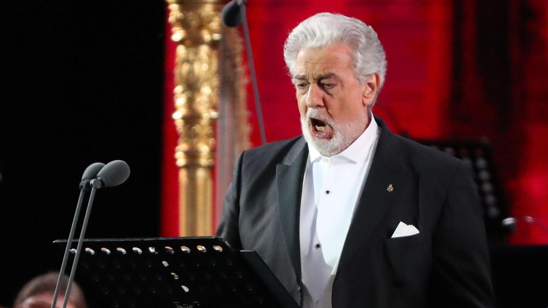 Испанский оперный певец Пласидо Доминго - РИА Новости, 1920, 15.10.2019
