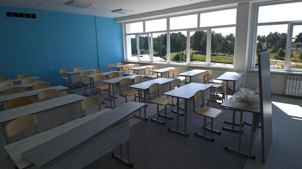 Кабинет начальных классов средней общеобразовательной школы № 51 в Новосибирске.