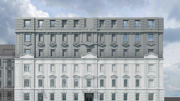 Проект реконструкции здания Детского музыкального театра юного актера