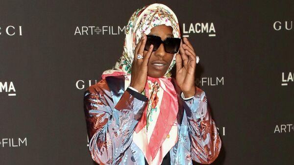 Хип-хоп исполнитель A$AP Rocky