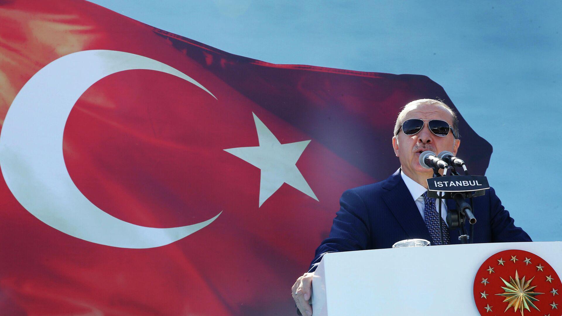 Президент Турции Реджеп Тайип Эрдоган - РИА Новости, 1920, 20.10.2020
