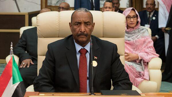 Суданский генерал Абдель Фаттах аль-Бурхан