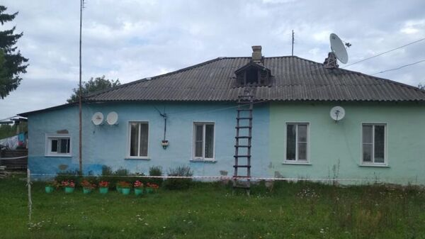 Дом в селе Патрикеево Ульяновской области, где произошло массовое убийство