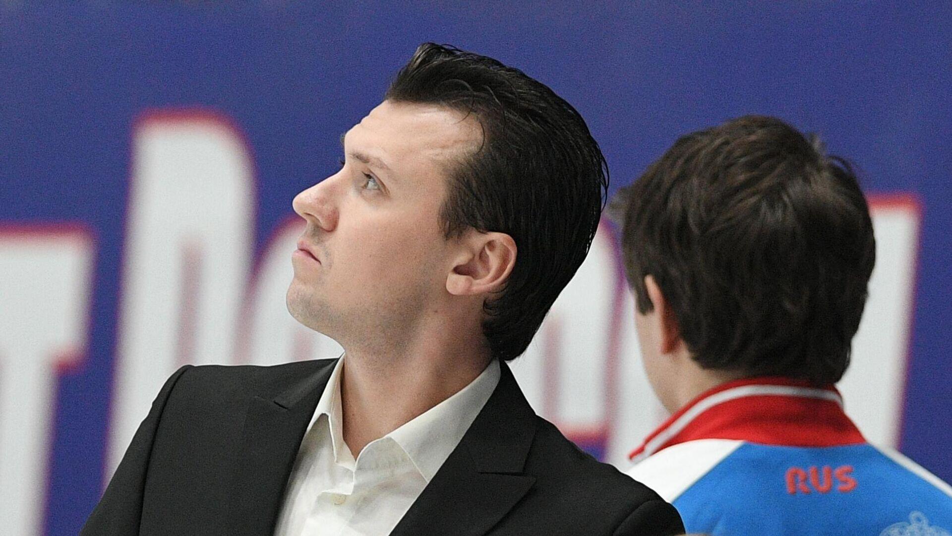 Тренеры Павел Слюсаренко и Валентина Тюкова  - РИА Новости, 1920, 25.05.2021