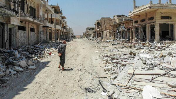 Город Хан-Шейхун в Сирии