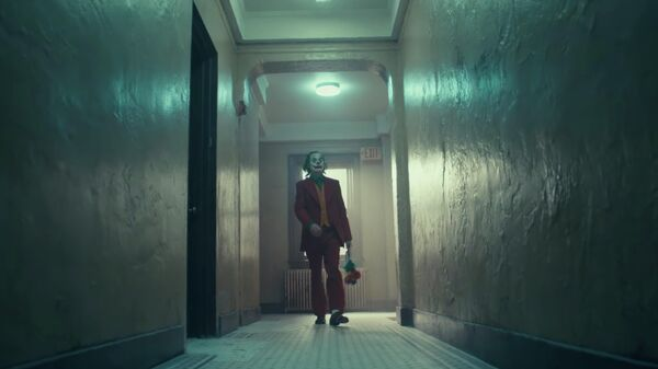 Хоакин Феникс в трейлере к фильму Джокер