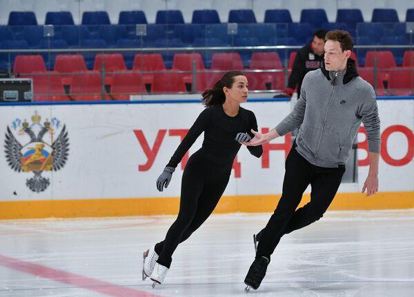 Ксения Столбова и Андрей Новоселов