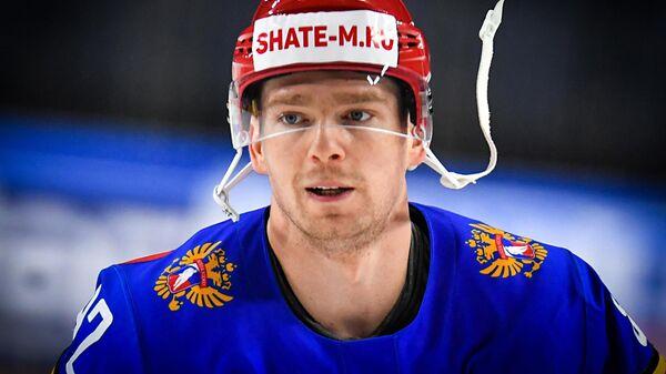 Игрок сборной России Евгений Кузнецов