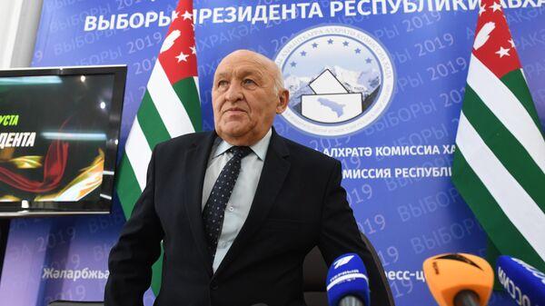 Спикер Народного Собрания Абхазии Валерий Кварчия