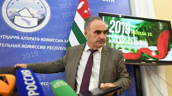 Председатель Центральной избирательной комиссии Абхазии Тамаз Гогия