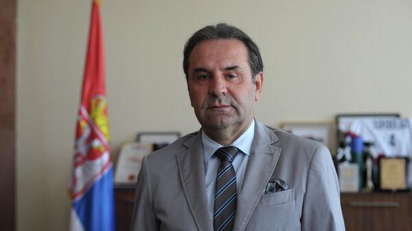 Вице-премьер, министр торговли, туризма и телекоммуникаций Сербии Расим Ляйич