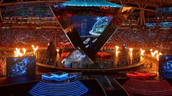 Выступление артистов на торжественной церемонии закрытия Мирового чемпионата по профессиональному мастерству WorldSkills Kazan 2019 в Казани