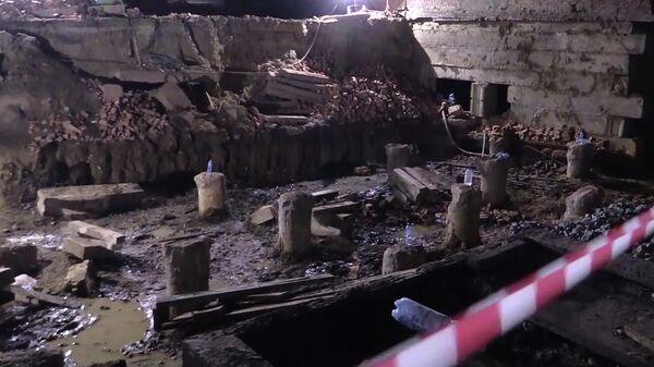 Завершение аварийно-спасательных работ на месте обрушения стены в Новосибирске