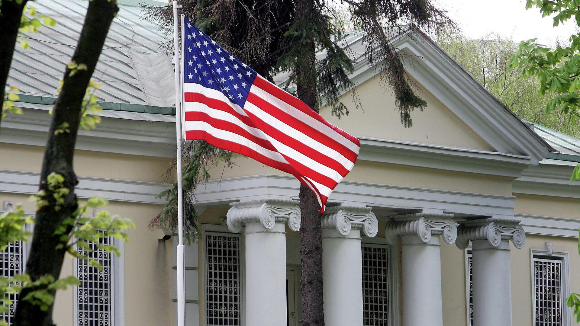 Здание посольства США в Минске - РИА Новости, 1920, 20.07.2021