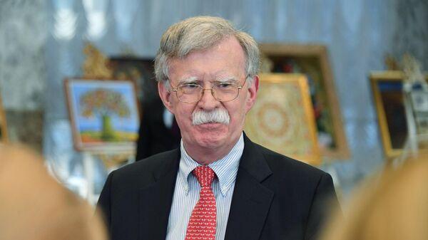 Экс-советник президента США по национальной безопасности Джон Болтон