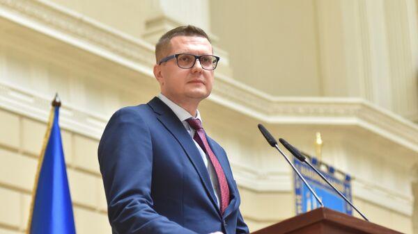 Исполняющий обязанности председателя Службы безопасности Украины Иван Баканов