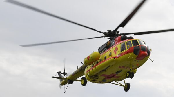 Новый вертолет Национальной службы санитарной авиации Ми-8 АМТ