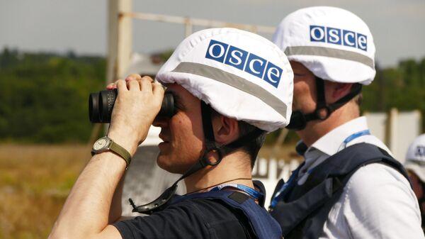 Представители инспекции ОБСЕ в Донецке