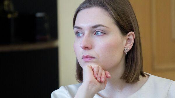 Министр образования и науки Украины Анна Новосад