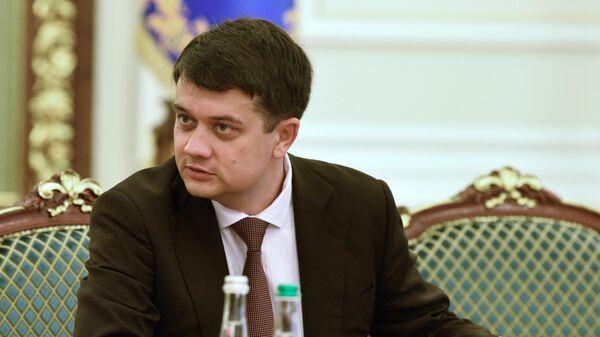 Спикер Рады Украины заявил, что по закону у него нельзя забрать мандат