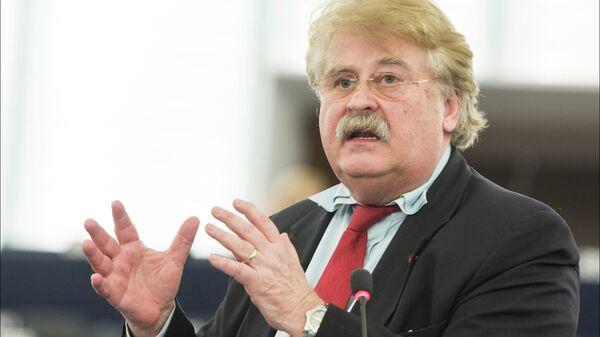 Председатель комитета Европарламента по иностранным делам Элмар Брок
