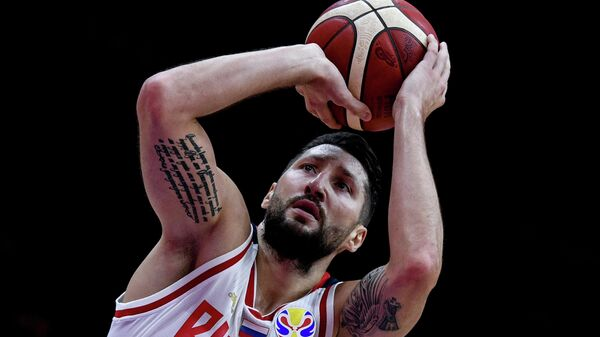Баскетбол. Чемпионат мира. Мужчины. Матч Россия - Аргентина