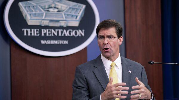 Министр обороны США Марк Эспер