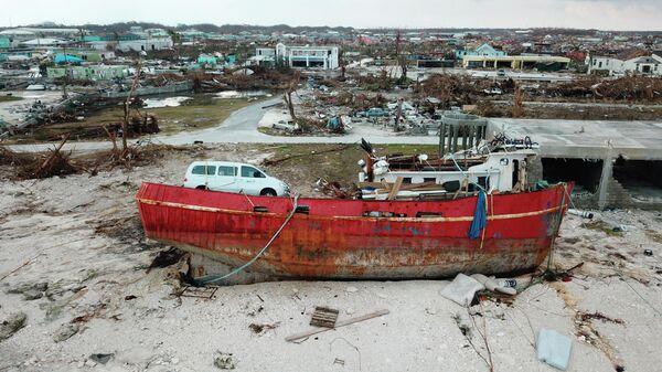 Последствия урагана Дориан на Багамских островах
