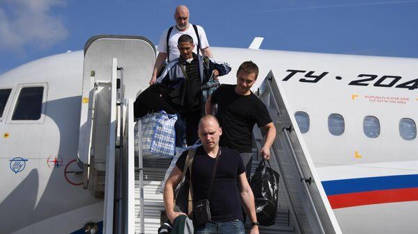 Участники договоренности об освобождении между Россией и Украиной прилетели в Москву
