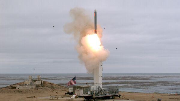 Запуск американской крылатой ракеты