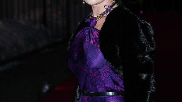 Актриса Анастасия Заворотнюк на презентации российской версии журнала The Hollywood Reporter в Москве