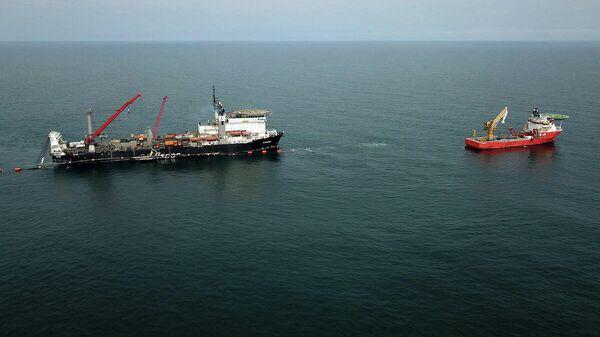Завершение соединения морской и наземных частей Турецкого потока